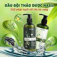 Dầu gội thảo dược NASIL bưởi HEVINA hết rụng tóc, dưỡng tóc cho tóc mọc nhanh, dày, mềm mượt, an toàn