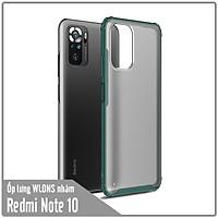 Ốp lưng chống sốc cho Xiaomi Redmi Note 10 nhám viền màu