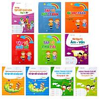 Combo Hành trang cho bé tự tin vào lớp 1 (10 cuốn)
