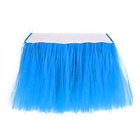 Tulle Table Skirts Cover Table Cloth for Girl Princess Party, Baby Shower, Slumber Party, Wedding, Birthday Parties and Home Decoration-Beautiful, Eye Catching & Unforgettable Party Centerpiece, 36 x