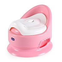 Bô vệ sinh cho trẻ em màu hồng