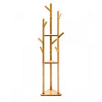 Cây treo quần áo gỗ tre 3 cây