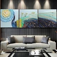 Tranh Phù Điêu Đất Sét Trắng - Công Thành Danh Toại 04 - 80x80cm