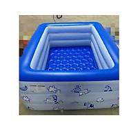 Hồ bơi phao cho bé chữ nhật 2m10 x 1m45 x 65cm