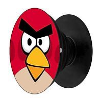 Popsocket in dành cho điện thoại mẫu Angry Đỏ - Hàng chính hãng