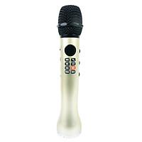 Micro Karaoke Bluetooth Âm Thanh Hay Cao Cấp Ghi Âm PKCB167 Luxury Golden - Hàng Chính Hãng