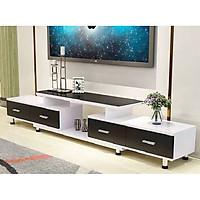 Kệ tivi phòng khách KTV235 hiện đại cho gia đình bạn, gỗ Mdf lõi xanh kháng ẩm phủ Melamine cao cấp