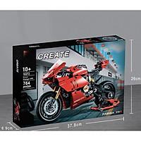 Bộ Lắp Ráp Mô Tô Technic Ducati hộp số 2 cấp 764 chi tiết