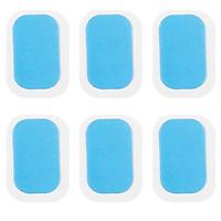 30 Gói 60 miếng dán Gel Bụng được làm bằng hydrogel nhập khẩu chất lượng tốt, mỏng và nhẹ, chống dị ứng, không mùi và bền lâu