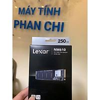 Ổ cứng SSD Lexar NM610-250GB 250GB M.2 2280 NVMe (HÀNG CHÍNH HÃNG MAI HOÀNG)