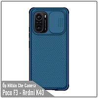 Ốp lưng cho Xiaomi Poco F3 - Redmi K40 Nillkin CamShield che camera - Hàng Nhập Khẩu