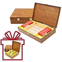 Yến Sào Song Việt – Combo hộp gỗ 4 phần yến và hộp gỗ 30 phần yến khô