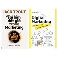 Combo Những Sai Lầm Đắt Giá Trong Marketing + Digital Marketing - Trên Thông Marketing Dưới Tường Công Cụ Số