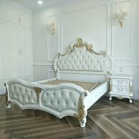 Giường ngủ gỗ cổ điển xuất khẩu