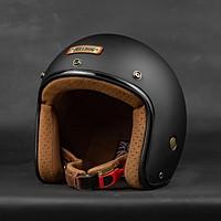 Mũ bảo hiểm 3/4 Bulldog Perro 4u - Phong Cách Cổ Điển