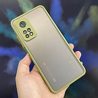 Ốp lưng cho Xiaomi Mi 10T Pro 5G - Redmi K30S trong nhám viền màu che camera