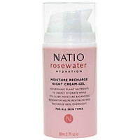 Gel Kem Dưỡng Ẩm Da Ban Đêm Natio Rosewater Hydration Moisture Recharge Night Cream-Gel 80ml