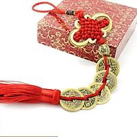 Chuỗi Đồng Xu, tiền xu Ngũ Đế Tài Lộc Phong Thủy (bằng đồng nguyên chất)206154