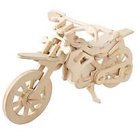 Mô hình lắp ghép 3D bằng gỗ Xe Motorbike
