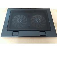 Đế tản nhiệt cho laptop Fortech F118 2 quạt lớn-hàng chính hãng