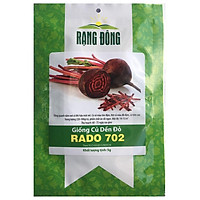 Hạt Giống Củ Dền Đỏ RADO 702 - 5gr - Rạng Đông - Có vỏ màu tím đậm, thịt củ màu đỏ đậm, củ tròn cao