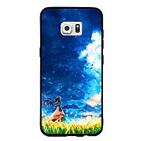 Ốp Lưng Viền TPU Cao Cấp Dành Cho Samsung Galaxy S7 - Little Girl