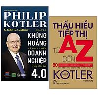 Combo 2 cuốn sách hay về kinh tế :  Quản Lý Khủng Hoảng Và Phát Triển Doanh Nghiệp Trong Thời Đại 4.0 +  Thấu Hiểu Tiếp Thị Từ A Đến Z - 80 Khái Niệm Nhà Quản Lý Cần Biết ( Tặng kèm Bookmark Happy Life)