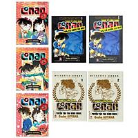 Fullset Conan SIÊU ĐẶC BIỆT: Conan và Tổ chức Áo Đen (Tập 1, 2) + Conan Tuyển Tập Fan Bình Chọn (Tập 1, 2) + Conan Những Câu Chuyện Lãng Mạn (Tập 1,2,3) - Tặng kèm 3 POSTCARD và Bookmark HappyLife