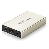 Bộ nhận HDMI qua cáp Ethernet đơn Cat 7/6/5e 20M 3D 1080P 60hz  Ugreen 30942 MM116 Hàng chính hãng
