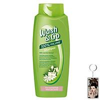 Dầu gội Wash&Go Shampoo Jasmine Extract 750ml + Móc khóa