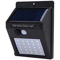 Đèn cảm biến hồng ngoại năng lượng mặt trời  20 led V3