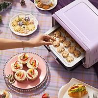 Lò nướng điện gia đình Bear DKX-C11Z2 nướng bánh đa chức năng tự động mini dung tích nhỏ 11 lít