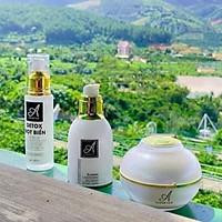 Bộ sản phẩm chăm sóc da mặt, ngừa mụn, dưỡng ẩm Acosmetics (Detox bọt biển, Serum và Face pháp)