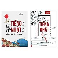 Combo 2 Cuốn Tập Viết Tiếng Nhật: Tập Viết Tiếng Nhật - Bảng Chữ Cái Hiragana + Tập Viết Tiếng Nhật - Bảng chữ cái Katakana (Bộ Sách Nâng Cao Kỹ Năng Viết Tiếng Nhật Nhanh Chóng Dành Cho Người Việt