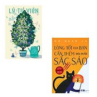 Bộ 2 cuốn sách kỹ năng sống best seller: Cuộc Đời Rực Rỡ Đừng Sống Không Màu - Lòng Tốt Của Bạn Cần Thêm Đôi Phần Sắc Sảo