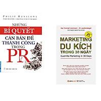 Combo 2 cuốn sách: Những Bí Quyết Căn Bản Để Thành Công Trong PR + Marketing Du Kích Trong 30 Ngày