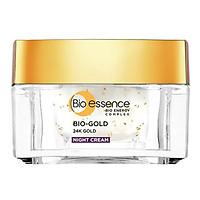 Kem Dưỡng Ngăn Ngừa Dấu Hiệu Lão Hóa Chiết Xuất Vàng Sinh Học 24K Bio-Gold Bio-Essence 40g (Ban Đêm)