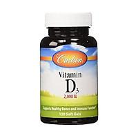 Carlson - Vitamin D3, 2000 IU (50 mcg), Bone & Immune Health, Vitamin D Supplements, Cholecalciferol Supplement, Gluten Free Vitamin D Capsules, 360 Softgels