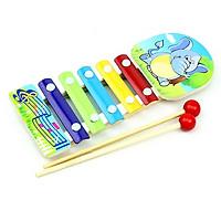 Đàn gỗ 5 thanh giúp bé phát triển thính giác (giao mẫu ngẫu nhiên)