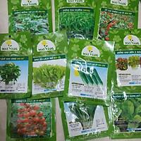 Combo hạt giống_10 loại rau củ quả dễ trồng, dễ chăm sóc tại nhà