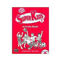 Superkids New Education Activity Book 1 With CD
