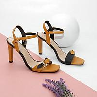 Giày Sandal Cao Gót 9cm Quai Phối Màu Pixie X545