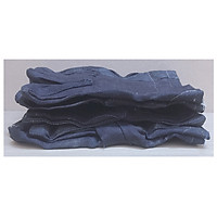 3 Găng Tay Vải Bò -  Vải Jean (Bao Tay Vải Bò 80-120) Lao Động, Làm Vườn, Chống Cắt, Chống Trơn Trượt, Chống Bỏng