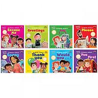 Combo 8 cuốn sách Giỏi Tiếng Anh, Vui Ứng Xử - Dạy trẻ Giao Tiếp Ứng Xử ( Tặng kèm Bookmark )
