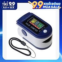 Máy đo huyết áp dạng kẹp ngón tay  & Heart Rate Monitor with Lanyard 2-way Display Digital SpO2 Monitor