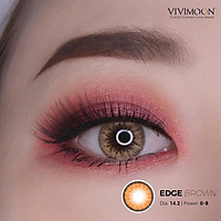 Kính áp tròng VIVIMOON Edge Brown 14.2 - 14.5mm