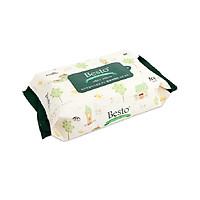 Khăn giấy ướt Besto Baby 100 tờ (nắp dán tiện dụng) - Nhập khẩu Hàn Quốc