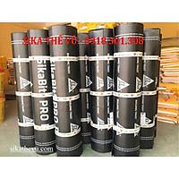 Màng chống thấm khò nóng dày 3mm - SikaBit Pro 30 sand ( cuộn 10m ).