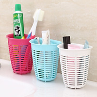 Rổ treo đựng giẻ rửa bát tiện lợi màu trắng (dáng sâu) - Hàng nội địa Nhật