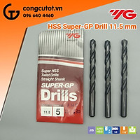 Mũi khoan đen YG 11.5mm DSH101115